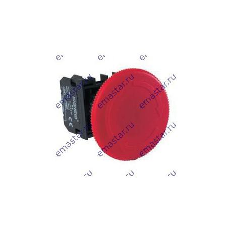 EMAS ► Кнопка аварийная «Грибок» Ø60мм с фикс. и возвратом поворотом (1НЗ) – Артикул: B200E60