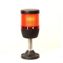 IK71L220XM01 Сигнальная колонна 70 мм. Красная 220 вольт, светодиод LED