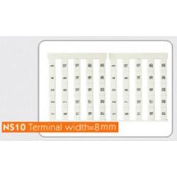 Маркировочные лейблы NS8 (Sheet/50 Pcs)