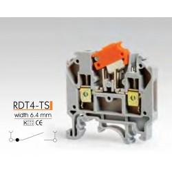 RAAD ► Клеммные зажимы с размыкателем RDT4-TS – Артикул: RDT4-TS