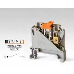 RAAD ► Клеммные зажимы с размыкателем RDT2.5-C – Артикул: RDT2.5-C