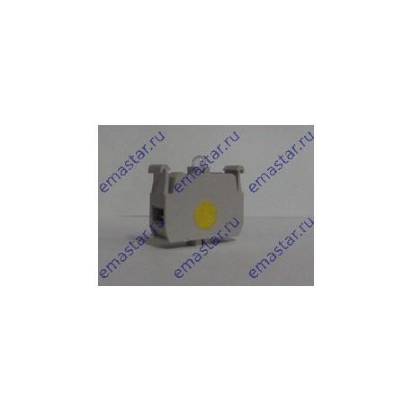 EMAS - Блок-контакт подсветки с желтым светодиодом 100-250 В перем. ток