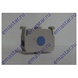 Блок-контакт подсветки с синим светодиодом 100-250 В перем. тока
