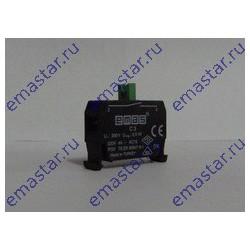 EMAS - Блок-контакт CM CP (1НО) для исп. с кнопками серии В в пультах управления