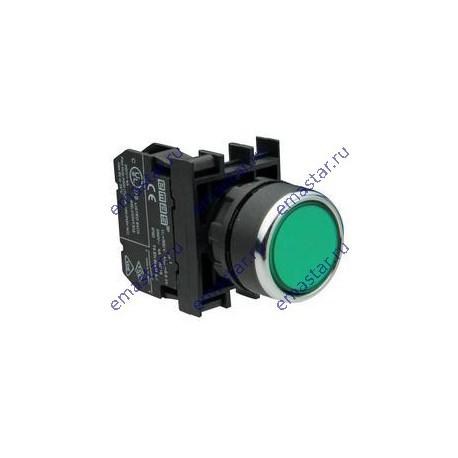 EMAS - Кнопка с подсветкой неон зеленая B132DY