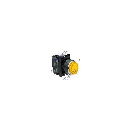 EMAS - Кнопка выступающая желтая B101HS (2НО)