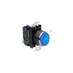 EMAS - Кнопка выступающая синяя B202HM (2НЗ)