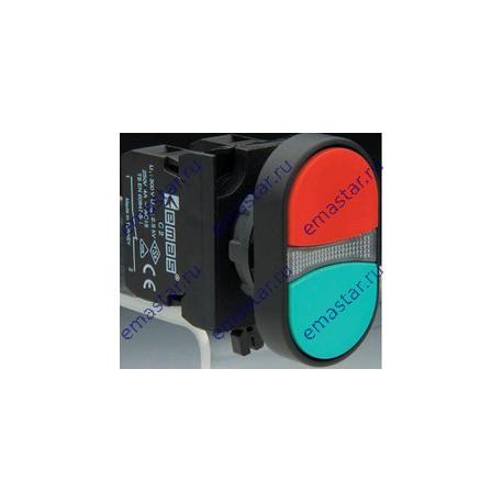 EMAS - Кнопка сдвоенная серии СР (1НО+1НЗ)
