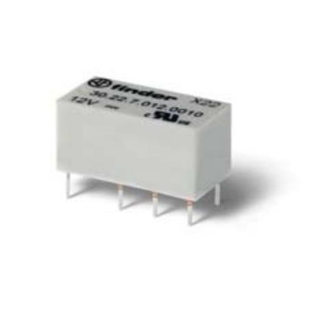 Finder - Субминиатюрные двухрядные сигнальные реле 2А для печатного монтажа - 30.22