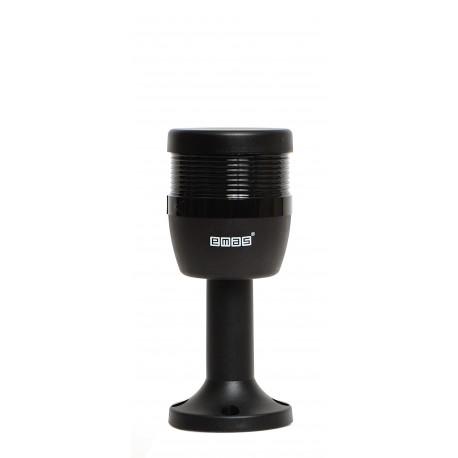 EMAS ► Одноместный зуммер Ø70 мм, 90 дБ, 24 В, пластмассовый патрубок 100 мм – Артикул: IKM7Z024M01