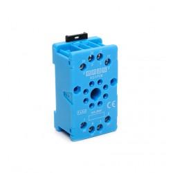 EMAS ► Релейная колодка на 8 выводов синяя – Артикул: RS1P08M1