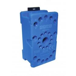 EMAS ► Релейная колодка на 11 выводов синяя – Артикул: RS1P11M1