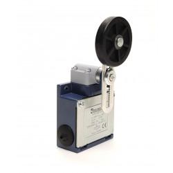 EMAS ► Концевой выключатель с резиновым роликом Ø50мм на коротком регулируемом рычаге (1НО+1НЗ) – Артикул: L53K13MEL122