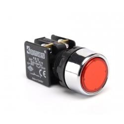 EMAS ► Кнопка нажимная Ø22 мм красная 1 НЗ – Артикул: KB12DK