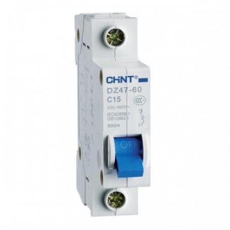 CHINT ► Автоматический выключатель серии DZ47-60 однополюсный