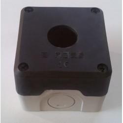 Кнопочный пост пластиковый пуcтой 1-о кнопочный IP65