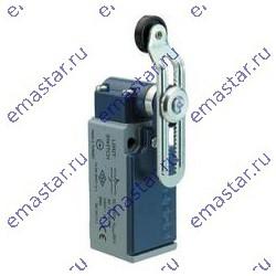 EMAS ► Концевой выключатель быстрого переключения угловой 2-направленный с металлической консолью и роликом Ø18мм на регулируемо