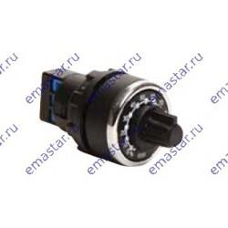 EMAS - Потенциометр одинарный, одно оборотный, моноблочный с круговым перемешением 1 кОМ IP 65