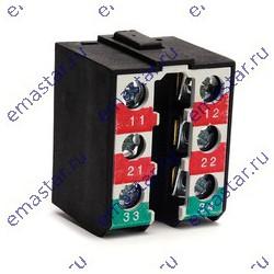 EMAS - Контактный блок медленнодействующий (1НО+2НЗ)