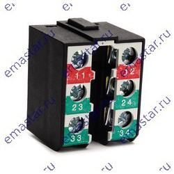 EMAS - Контактный блок медленнодействующий (2НО+1НЗ)