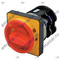 EMAS - Переключатель двухпозиционный аварийного типа трехфазный (0-1) 10А