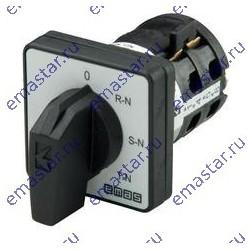 Переключатель предела для вольтметра (фаза-нейтраль) 10А