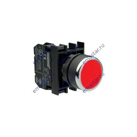 EMAS - Кнопка с фиксацией красная B102FК (1НО+1НЗ)