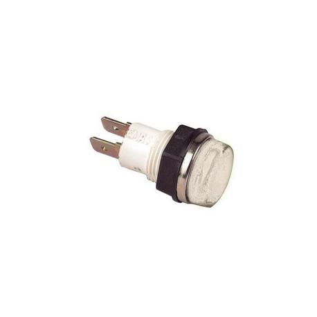 Сигнальная арматура 14мм белая с лампой 24В