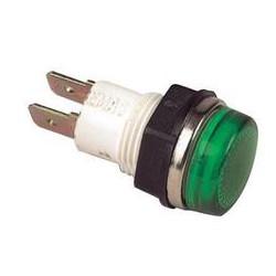 Сигнальная арматура 14мм зеленая с лампой 24В