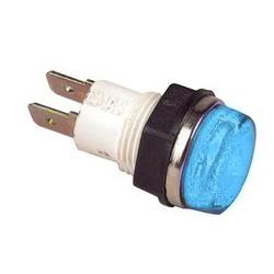 Сигнальная арматура 14мм синяя с лампой 220В