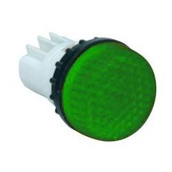 Арматура сигнальная зеленая для неоновой лампы (без лампы)