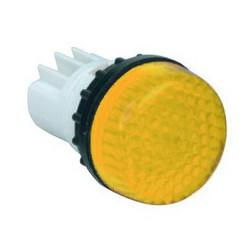 Арматура сигнальная желтая для неоновой лампы (без лампы)