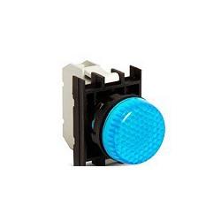 EMAS ► Арматура сигнальная синяя со светодиодом 12-30 В переменного и постоянного тока – Артикул: B070XM