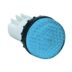 Арматура сигнальная синяя для неоновой лампы (без лампы)
