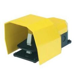 Педаль с защитной крышкой из пластика (1НО+1НЗ)