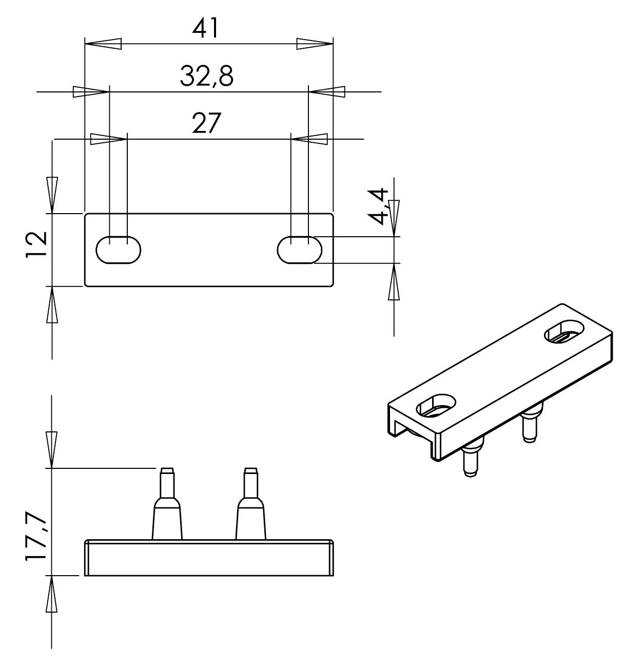 Габаритная схема выключателя Z70