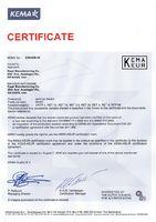 Сертификат на RET серии, RTP95, DRTP4