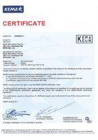 Сертификат на RDT4, RDT4-TS, RSTT6