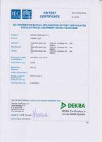 Сертификат Теста CB для RSL22 (Индикатор)