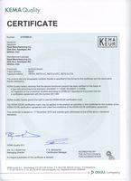 Сертификат на TRTP4, RDT2.5-C, RDT2.5-CFC, RDT2.5-CTS